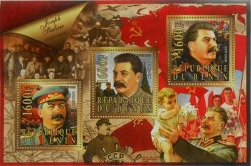 Józef Stalin II wojna Benin ark. #BEN15-35 доставка товаров из Польши и Allegro на русском