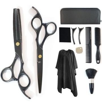 Набор профессиональных парикмахерских ножниц чехол доставка товаров из Польши и Allegro на русском