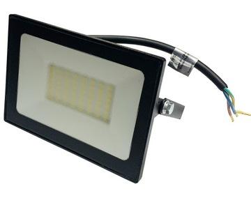 Прожектор LED SLIM 50W галоген лампа 3barwy доставка товаров из Польши и Allegro на русском