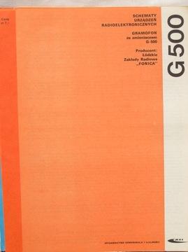 GRAMOFON G-500 ZE ZMIENIACZEM PŁYT INSTRUKCJA SERW доставка товаров из Польши и Allegro на русском