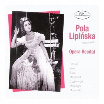 CD POLA LIPIŃSKA - Opera Recital доставка товаров из Польши и Allegro на русском