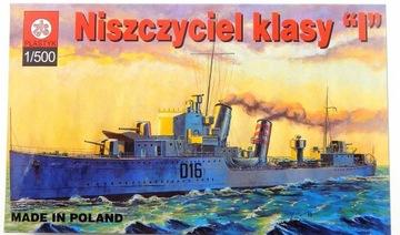 A4032 Модель корабля для склеивания Эсминец klasyI доставка товаров из Польши и Allegro на русском