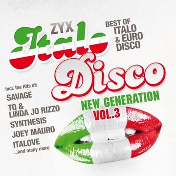 ZYX Italo Disco New Generation Vol.3 2CD доставка товаров из Польши и Allegro на русском