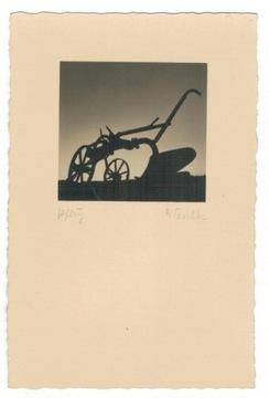 Pocztówka 1940 Pomorze jest piękne widok pług доставка товаров из Польши и Allegro на русском