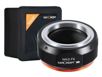 ADAPTER M42 na FX Fuji X-Pro1 K&F wersja PRO доставка товаров из Польши и Allegro на русском