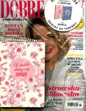 DOBRE RADY nr 11/20 + kalendarzyk na rok 2021 różo доставка товаров из Польши и Allegro на русском
