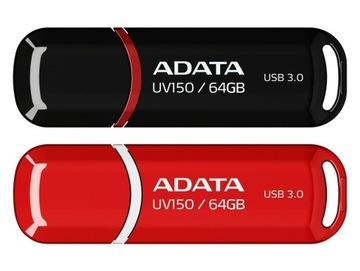 ВЫСОКОСКОРОСТНОЙ ФЛЭШ-накопитель ADATA UV150 64GB USB 3.0 (90 мб/сек доставка товаров из Польши и Allegro на русском