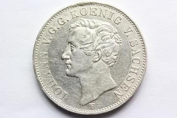 TALAR SACHSEN 1854 -JAN V -SAKSONIA STAN 1//1- доставка товаров из Польши и Allegro на русском