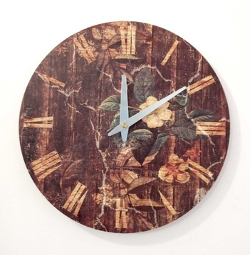 Zegar ścienny ZH98 retro vintage 30cm