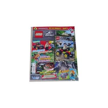 gazetka magazyn LEGO Jurassic World - nr 5/2020 r доставка товаров из Польши и Allegro на русском