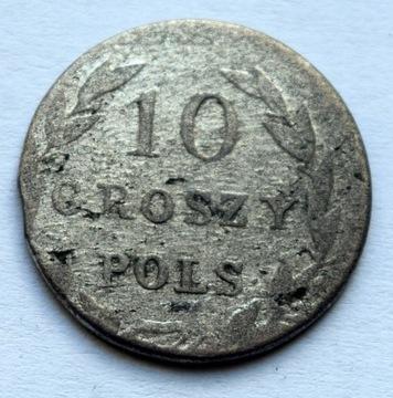 ЦАРСТВО ПОЛЬСКОЕ - 10 КОПЕЕК 1831 доставка товаров из Польши и Allegro на русском