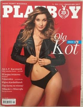 Playboy № 4/2017 (292) - Оля Кот доставка товаров из Польши и Allegro на русском