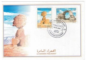 FDC Марки Алжир 2004 скалы, пустыня Сахара доставка товаров из Польши и Allegro на русском