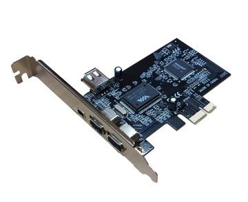 Kontroler FireWire 2x Port IEEE VT6307 PCI + Kabel доставка товаров из Польши и Allegro на русском