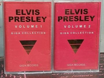 ELVIS PRESLEY - GIGA COLLECTION vol. 1 i 2 - MC x2 доставка товаров из Польши и Allegro на русском