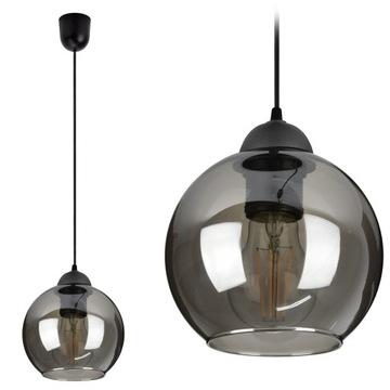 Стеклянный Подвесной Светильник потолочный светильник Люстра ШАР LED доставка товаров из Польши и Allegro на русском