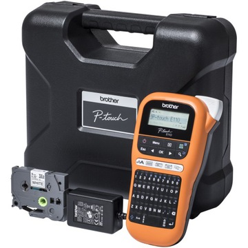 Drukarka Brother P-touch PT-E110VP + taśma доставка товаров из Польши и Allegro на русском