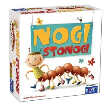 НОГИ СОРОКОНОЖКИ Семейная Игра для детей обучающая PL доставка товаров из Польши и Allegro на русском