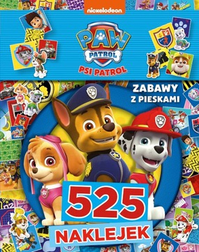 Psi Patrol 525 Naklejek Naklejki Zagadki Łamigłówk