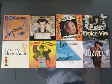 Zestaw Muzyki POP / Soul-Funk / DISCO 8 Singli доставка товаров из Польши и Allegro на русском