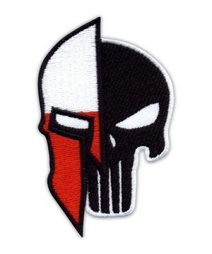 Naszywka Punisher Spartan Poland Polska HAFT RZEP доставка товаров из Польши и Allegro на русском