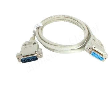 кабель удлинительный кабель DB15 разъем DSUB - разъем 3,0 м доставка товаров из Польши и Allegro на русском