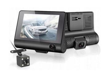 Video Rejestrator Jazdy Kamera Cofania 3 Kamery доставка товаров из Польши и Allegro на русском