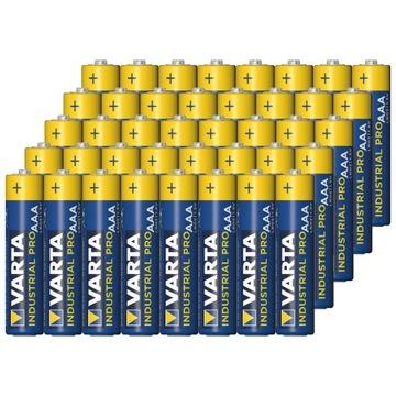 48sztuk батареи VARTA LR03 AAA 1,5 V Industrial Pro доставка товаров из Польши и Allegro на русском