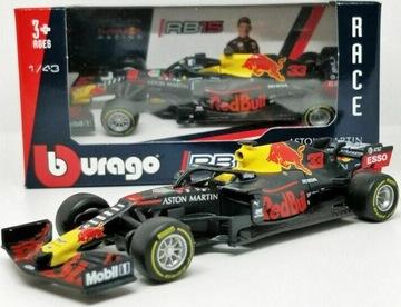 болид RB15 F1 Red Bull Max Verstappen BBurago 1:43 доставка товаров из Польши и Allegro на русском
