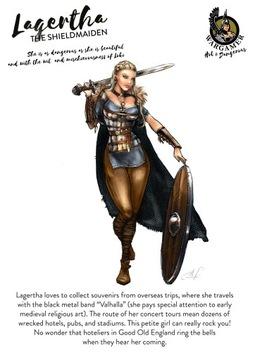 H&D-Lagertha, Shieldmaiden (54) В. МЕТАЛЛИЧЕСКАЯ опора доставка товаров из Польши и Allegro на русском