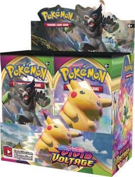 Karty Pokemon Vivid Voltage 36 szt Booster Nowe доставка товаров из Польши и Allegro на русском