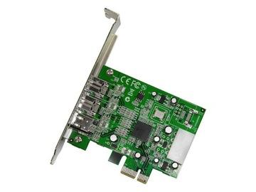 STARTECH КАРТА FIREWIRE PCI EXPRESS 800/400 Мбит/сек доставка товаров из Польши и Allegro на русском