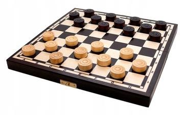 Игра Шашки деревянные доставка товаров из Польши и Allegro на русском