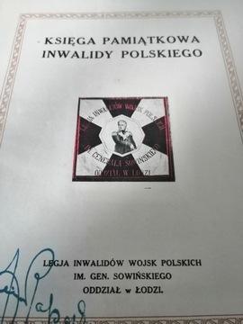 Цска Инвалидов Войска Польского Памятная Книга доставка товаров из Польши и Allegro на русском