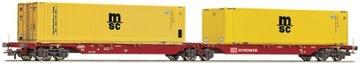 Вагон контейнер с контейнерами Msc Roco 76630 доставка товаров из Польши и Allegro на русском