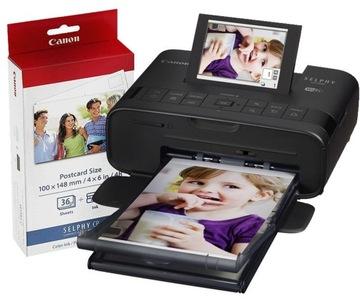 Canon Selphy CP1300 Фотопринтер + бумага KP36 доставка товаров из Польши и Allegro на русском