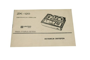 Instrukcja - Unitra ZRK ZK-120 доставка товаров из Польши и Allegro на русском