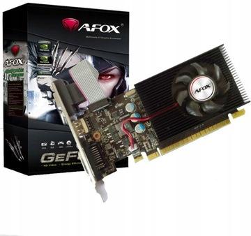 ВИДЕОКАРТА AFOX NVIDIA GeForce GT730 4GB HDMI DVI VGA доставка товаров из Польши и Allegro на русском