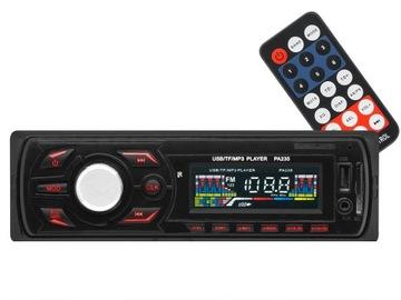 Radio samochodowe Bluetec PA235 usb microSD aux доставка товаров из Польши и Allegro на русском