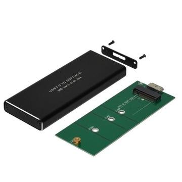 Адаптер M. 2 набор интерфейсов - USB 3.0 для жестких дисков SSD Корпус доставка товаров из Польши и Allegro на русском