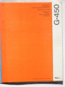 INSTRUKCJA SERWISOWA GRAMOFON G-450 доставка товаров из Польши и Allegro на русском