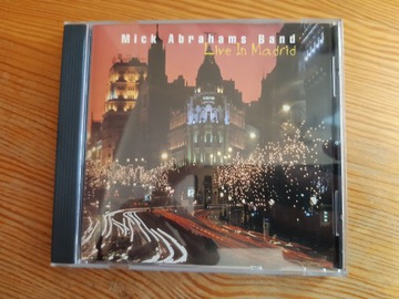 Mick Abrahams Band - Live In Madrid, CD доставка товаров из Польши и Allegro на русском