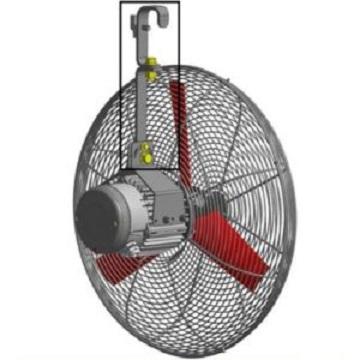 Mieszacz powietrza wentylator Multifan 50 obora