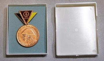 Бронзовая медаль чемпиона резерва ГДР NVA  доставка товаров из Польши и Allegro на русском