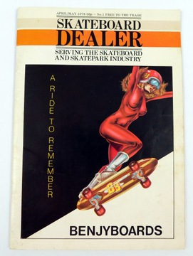 Скейтборд Dealer Magazine #01 с 1978 УНИКУМ !! доставка товаров из Польши и Allegro на русском