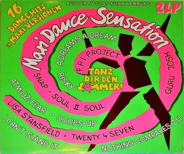 Maxi Dance Sensation 1 1990 SKŁ 2x12'' Sandra доставка товаров из Польши и Allegro на русском