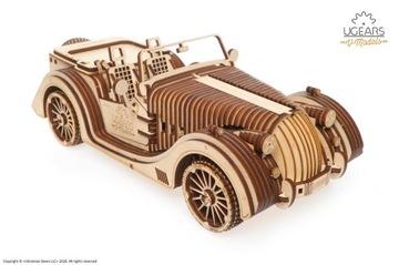 Roadster VM-01 Model samochód auto Ugears drewno доставка товаров из Польши и Allegro на русском