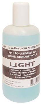 LIGHT мягкий ЖИДКОСТЬ для ПРОЧИСТКИ печатающих головок, 150 мл доставка товаров из Польши и Allegro на русском