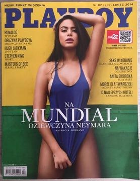 Playboy № 7/2014 (259) - Patricia Jordane доставка товаров из Польши и Allegro на русском