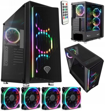 GENESIS IRID 400 Корпус PC GAMING CASE ATX RGB доставка товаров из Польши и Allegro на русском